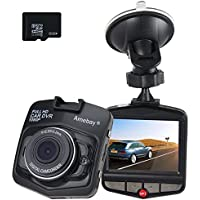 Amebay Full HD 1080P Car Vehicle HD Dash Camera DVR Cam Recorder with 32GB Micro SD Card