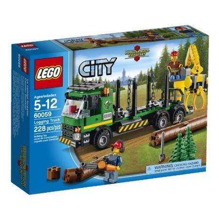 LEGO City Great Vehicles 60059 Logging Truck