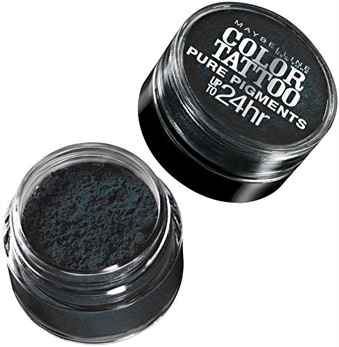 Maybelline New York Eye Studio Color Tattoo Pure Pigments, Black Mystery, 0.05 Ounce (Pack of 2)