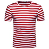 Clearance! Hot sale ! Charberry Men's Summer Casual Stripe...