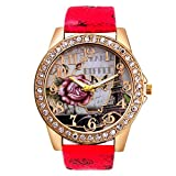 Excellent Quality Relogio Feminino Diamond Bracelet Watches Women Dress Quartz Women Wrist Watches Rhinestone
