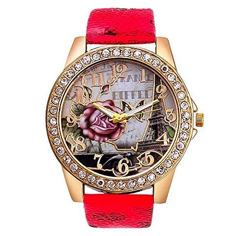 Excellent Quality Relogio Feminino Diamond Bracelet Watches Women Dress Quartz Women Wrist Watches (Relojes Rolex Women)