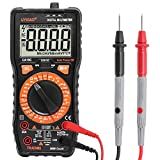 Electronic Digital Multimeter,UYIGAO Manual Portable Testing DC/AC voltage AC/DC Current Duty cycle Diode Amp/Ohm/Volt Tester Tool with LCD Display(UA-19C)