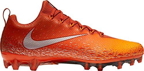 Nike Mens Vapore Intoccabile Pro Tacchetti Da Calcio Ci Cinabro / Arancio Totale / Arancione Squadra / Argento Metallico
