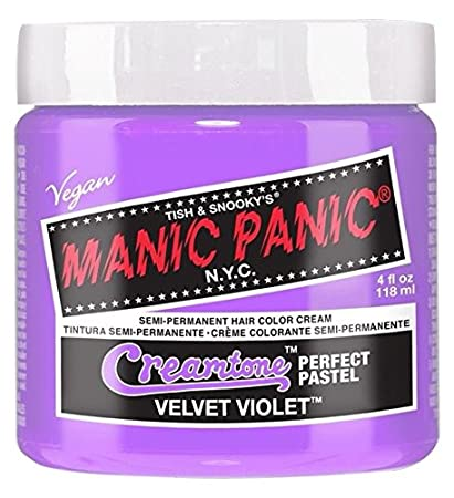 Top Amazon.com : Manic Panic Semi-Permanent Hair Color Cream, Velvet &YY94
