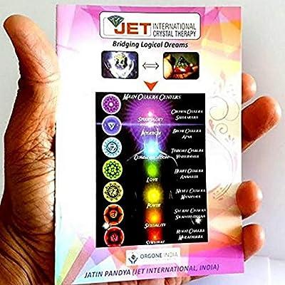Jet Mix Gemstone Unique Lapis Merkaba Chakra Orgone Pyramid Crystal Gemstones Copper
