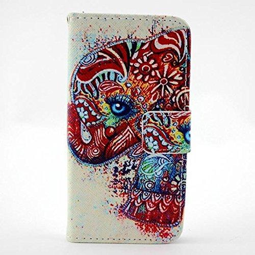 Monkey Cases® iPhone 6 4,7 Zoll - Flip Case - ELEFANTEN - Premium - original - neu - Tasche - elephants #4