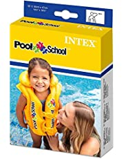 سترة نجاة لحوض السباحة فاخرة من انتكس، لون: اصفر [58660]