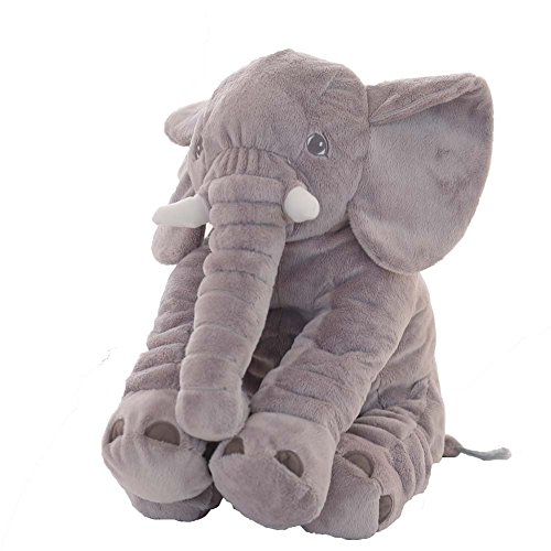 rainbow fox animals pillow grey elephant stuffed plush pillow pals cushion plush toy cute baby. Black Bedroom Furniture Sets. Home Design Ideas