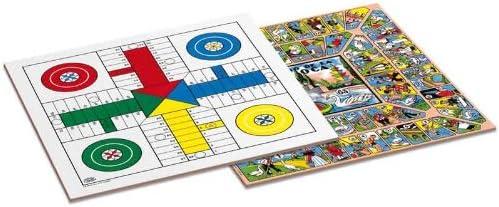 Cayro - Tablero Parchis/Oca De Madera 35X35 Cm Basico: Amazon.es: Juguetes y juegos