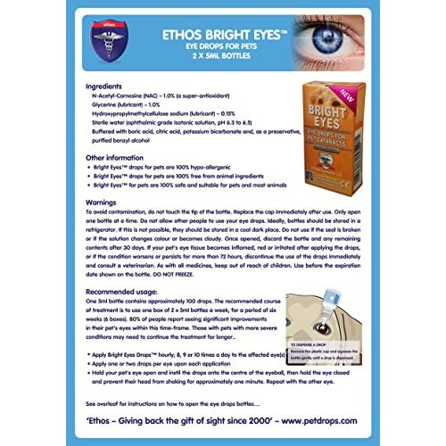 On Sale Carnosine Eye Drops For Dogs With Cataracts Ethos Bright