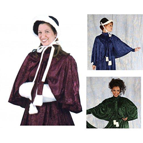 Christmas Carolers Costumes (Dickens Caroler Capelet)