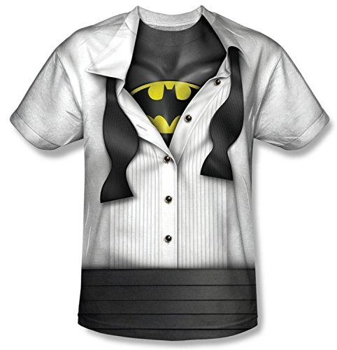 Batman+Shirts Products : I'm Batman Suit Tie T-Shirt