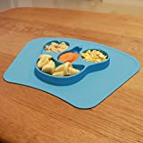 Best Floor Mat With Suctions - mockins Mess Free Silicone Suction Baby Placemat With Review