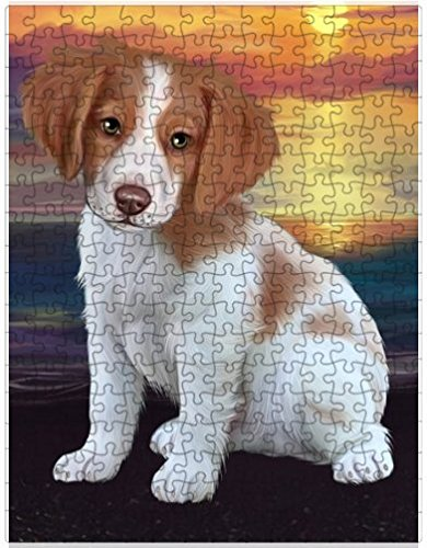 Brittany Spaniel Picture (Brittany Spaniel Dog Puzzle with Photo Tin D643 (551 pc.))