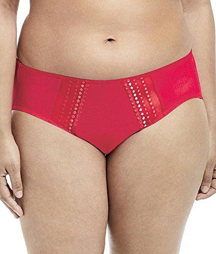 Elomi Women's Plus Size Matilda Brief, Flame, L