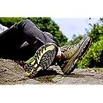 Chaussures de Randonnée Outdoor pour Hommes Femmes Basses Trekking et Les Promenades Sneakers Verte Bleu Noir 36-47 10
