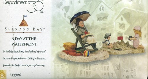 Retired Dept 56 Seasons Bay A DAY AT THE WATERFRONT - Waterfront At Stores