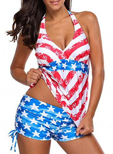 aleumdr-womens-halter-neck-usa-flag-printed-deep-v-neck-tankini-top-swimsuit-with-swim-shorts-sexy-t