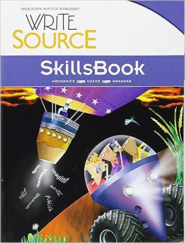 Amazon write source skillsbook student edition grade 8 write source skillsbook student edition grade 8 1st edition fandeluxe Gallery