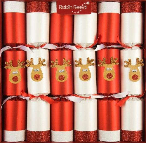 R&R 6 x 13 (inch) Handmade English Christmas Table Decorations