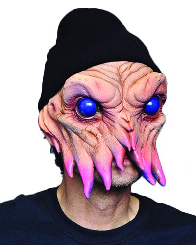 Zagone Squiddles Mask, Underwater Sea Creature Ocean Monster with Tentacles -