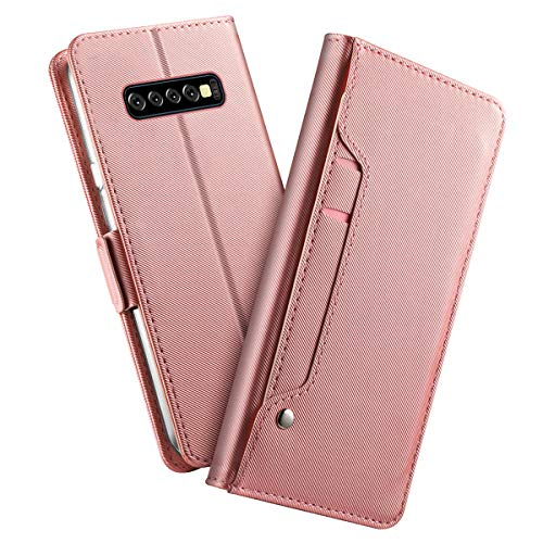 Samsung Galaxy S10 Plus Protection PU Leather Wallet Case by Codream