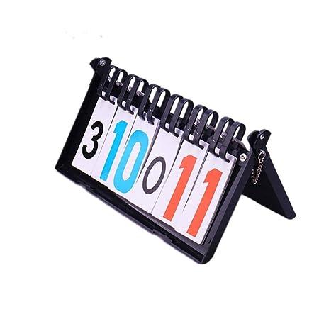 Cuadro de indicadores de mesa portátil Marcador de 6 dígitos ...
