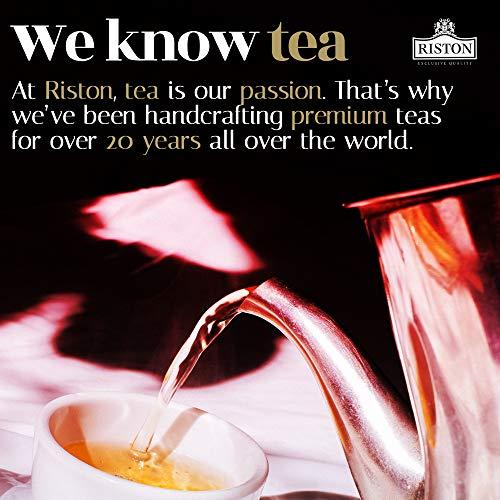 Riston Slim Tea Goji Berry Slim Tea Green Detox Tea 100% Natural Herbal Promotes Energy and Vitality, Individually Foil Wrapped Herbal Tea | 20 Tea Sachets/pack (Goji Berry) 4