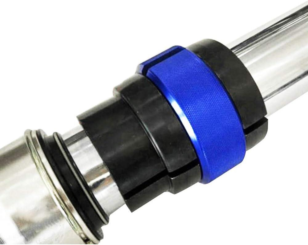 Outil Universel pour Fourche /à Anneau 47 mm 48 mm pour Yamaha YZ125 YZ250 YZ250F YZ450F WR250F WR450F Honda CR125 CR250 CRF Suzuki RM125 Kawasaki KX250 KX450F SX350 Dirt Pit Bike Bleu