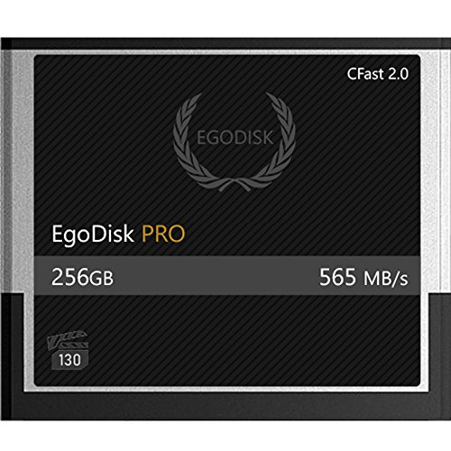 EgoDisk PRO 256GB CFast 2.0 Card - (BLACKMAGIC DESIGN URSA MINI 4K