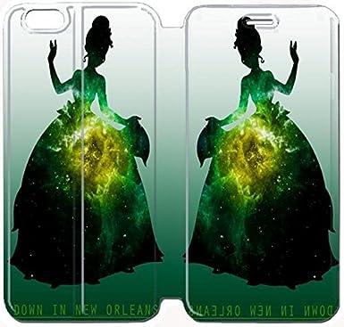 new concept 4b8e5 8f4b0 DISNEY PRINCESS TIANA Custom Flip Cover Case For iPhone 6 6S Plus ...