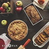USA Pan Bakeware Aluminized Steel Loaf Pan, 1