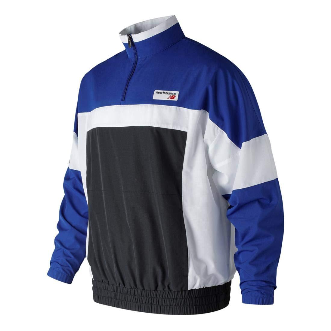 dfb30ffefaba3 Amazon.com: New Balance Men's Athletics Windbreaker Pullover Jacket: Sports  & Outdoors