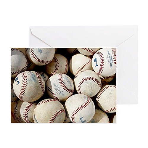 CafePress Baseballs Greeting Birthday Inside