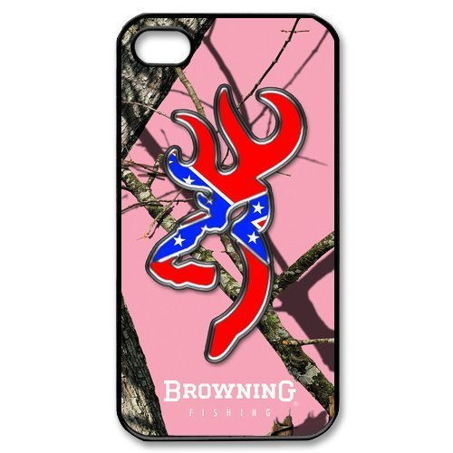DiyCaseStore Browning Cutter Logo Pink Camo iPhone 4 4S Well-designed Hard Case Cover Protector