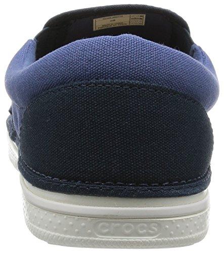 Men's Canvas Bijou Blue on Slip White Norlin Crocs RwnxvdR