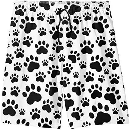 supiocv Texture Stripe Gray Childrens Beach Pants Board Shorts Swim Quick Dry camo Shorts