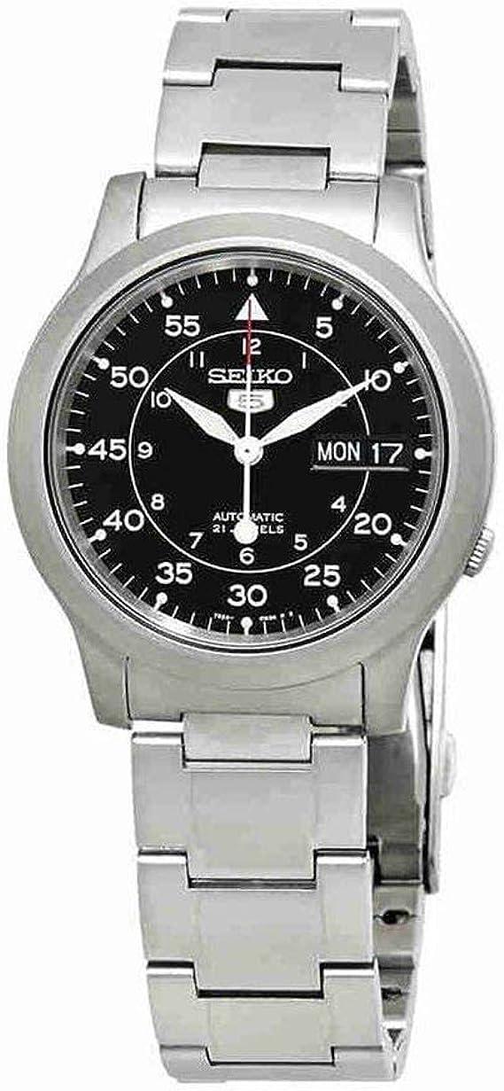 [セイコーインポート]SEIKOimport腕時計海外モデルSNK809K1ブラックメタルベルトメンズ[逆輸入]