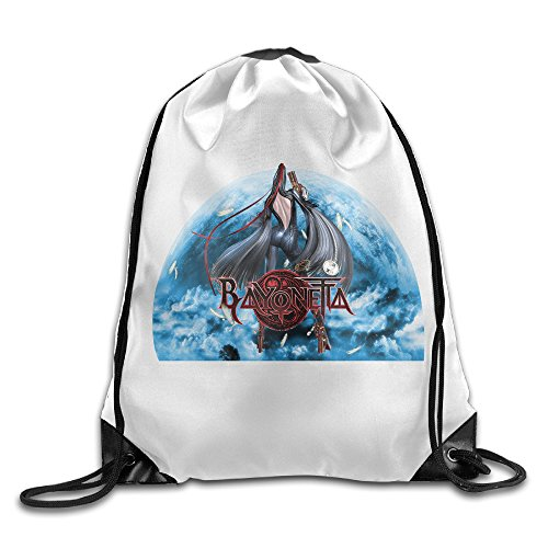 DEMOO Bayonetta LOGO Drawstring Backpack / Sack Bag - Bayonetta Xbox 360 Costumes