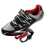 Venzo Road Bike For Shimano SPD SL Look Cycling Bicycle Shoes & Pedals 41