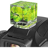 (March 2016 Update) Altura Photo Three Axis Hot Shoe Bubble Level for all DSLR Cameras with a Standard Hot Shoe Mount (Canon Nikon Sony Pentax)