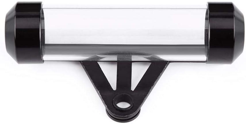Opci/ón m/últiple Moto universal Moto Tubo de disco de impuestos seguro y resistente Marco de soporte cil/índrico duradero a prueba de agua Azul