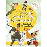 Disney Sihirli Maceralar: Çıkartmalı Boyama Kitabı