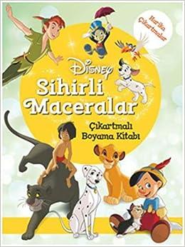 Disney Sihirli Maceralar çıkartmalı Boyama Kitabı Kolektif
