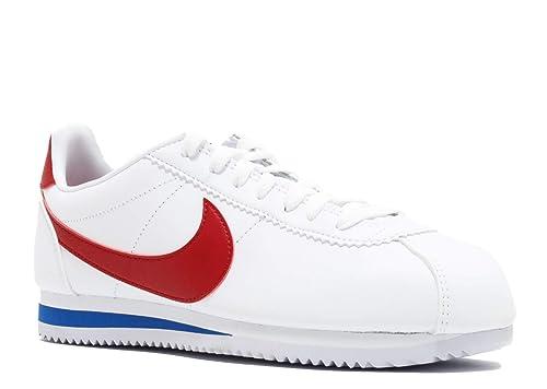 pretty nice b0076 7473b Nike Wmns Classic Cortez Leather Scarpe da Ginnastica Basse Donna   Amazon.it  Scarpe e borse