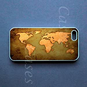 Iphone 5c Case - World Map Iphone 5c Cover -