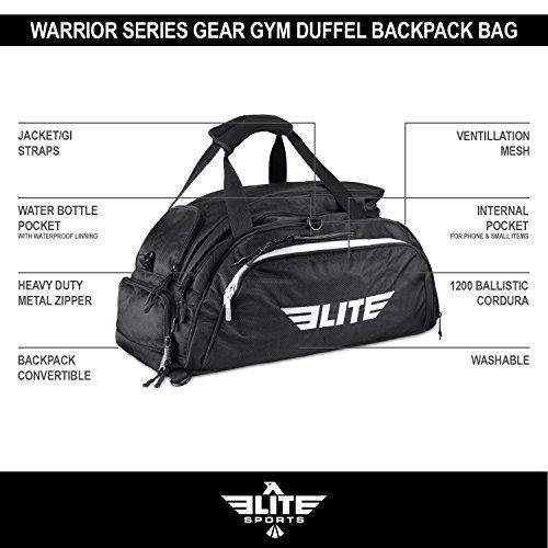 d6685b2df38b Elite Sports NEW ITEM Warrior Series Boxing MMA BJJ Gear Gym Duffel  Backpack Bag