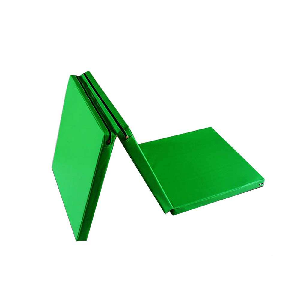 ZJ B07MDLMGC9 体操用マット三重の屋内運動用マット、体操のための5cmの厚い体育館用マット、エアロビクス、ヨガ、格闘技のマット大人 : (色 : サイズ 青, サイズ さいず : 60×180×5CM) B07MDLMGC9 Green 60×180×5CM 60×180×5CM|Green, 激安 てれび館:7c6d05cb --- krianta.com