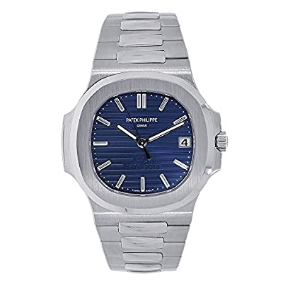 Patek Philippe Nautilus 40mm Platinum 40th Anniversary Watch 5711-1P by Patek Philippe